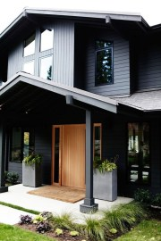 Modern Homes Decorating With Black Exteriors 04