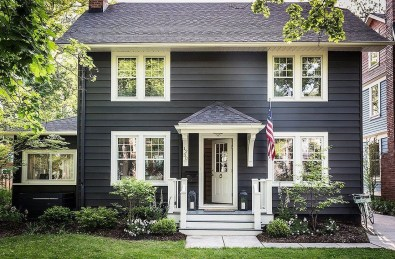 Modern Homes Decorating With Black Exteriors 13