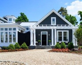 Modern Homes Decorating With Black Exteriors 15