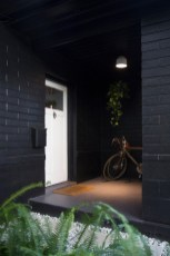 Modern Homes Decorating With Black Exteriors 16