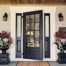Modern Homes Decorating With Black Exteriors 23