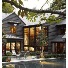 Modern Homes Decorating With Black Exteriors 36
