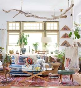 Stunning Bohemian Living Room Design Ideas 02