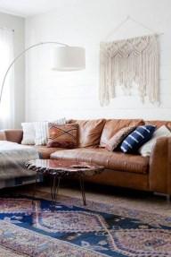 Stunning Bohemian Living Room Design Ideas 03