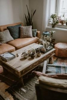 Stunning Bohemian Living Room Design Ideas 16