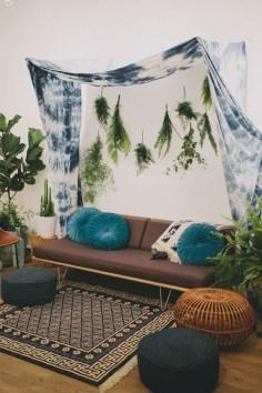 Stunning Bohemian Living Room Design Ideas 30