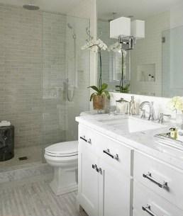 Stylish Small Master Bathroom Remodel Design Ideas 14