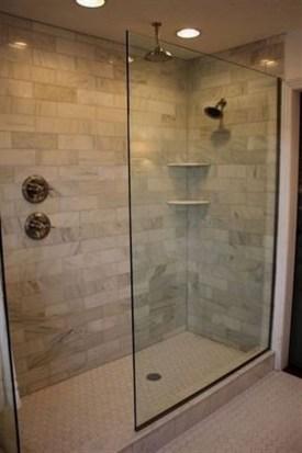 Stylish Small Master Bathroom Remodel Design Ideas 16