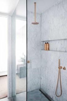 Stylish Small Master Bathroom Remodel Design Ideas 32