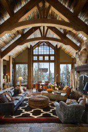 Amazing Lodge Living Room Decorating Ideas 04