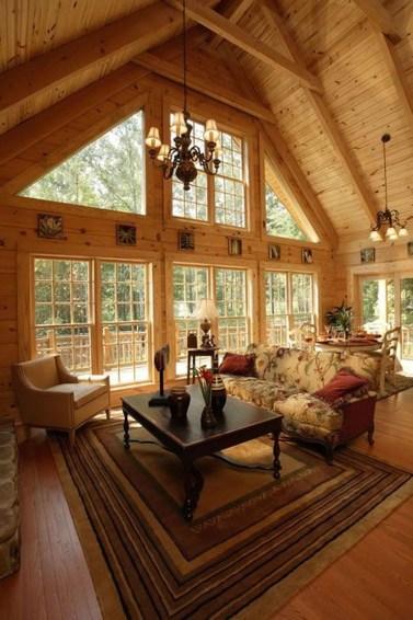 Amazing Lodge Living Room Decorating Ideas 24