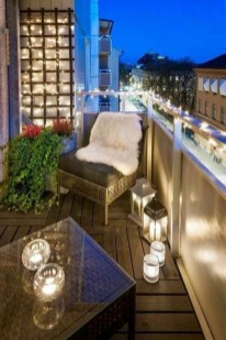 Awesome Apartment Balcony Design Ideas 36