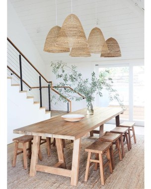 Awesome Lighting For Dining Room Design Ideas 17