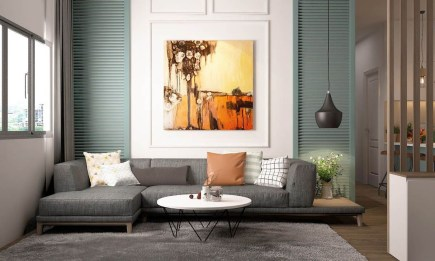 Brilliant Small Apartment Decor And Design Ideas 19
