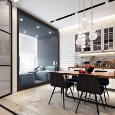 Brilliant Small Apartment Decor And Design Ideas 44