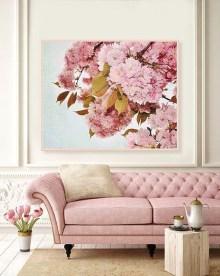 Cute Pink Lving Room Design Ideas 03