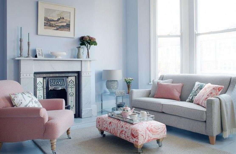 Cute Pink Lving Room Design Ideas 37