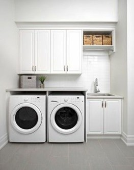 Efficient Small Laundry Room Design Ideas 20