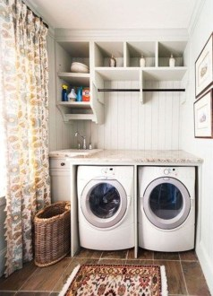 Efficient Small Laundry Room Design Ideas 31