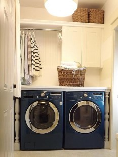Efficient Small Laundry Room Design Ideas 38