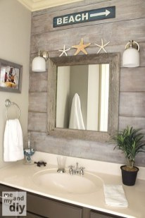 Fabulous Coastal Decor Ideas For Bathroom 01