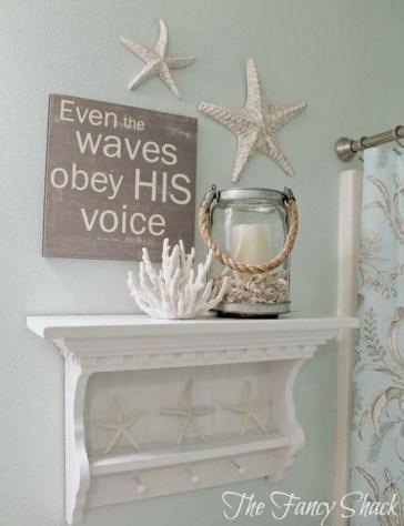 Fabulous Coastal Decor Ideas For Bathroom 27