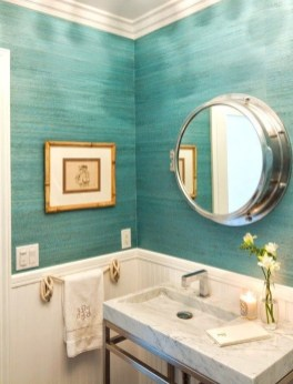 Fabulous Coastal Decor Ideas For Bathroom 36