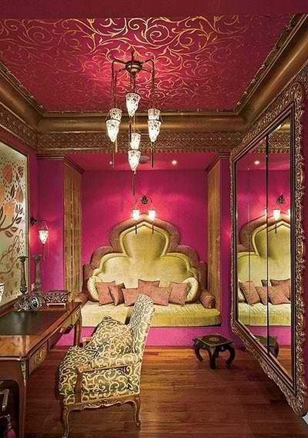 Small indian bedroom tour | small bedroom decor & organization | indian mom studio. Nice 40 Fascinating Moroccan Bedroom Decoration Ideas