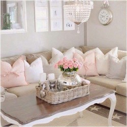 Lovely Shabby Chic Living Room Design Ideas 03
