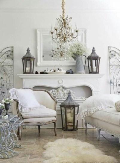 Lovely Shabby Chic Living Room Design Ideas 09