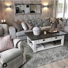 Lovely Shabby Chic Living Room Design Ideas 10