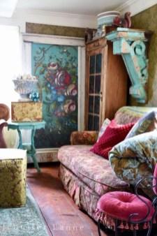 Lovely Shabby Chic Living Room Design Ideas 16