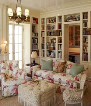 Lovely Shabby Chic Living Room Design Ideas 35