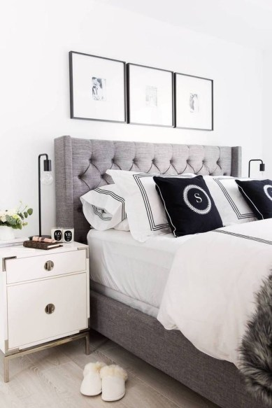 Modern Small Master Bedroom On A Budget 18