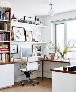 Perfect Contemporary Home Office Design Ideas 15