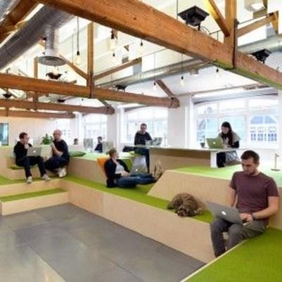 Perfect Contemporary Home Office Design Ideas 22