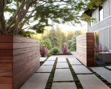 Relaxing Front Yard Fence Remodel Ideas For Your Home 18