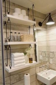 Stunning Rustic Farmhouse Bathroom Design Ideas 03