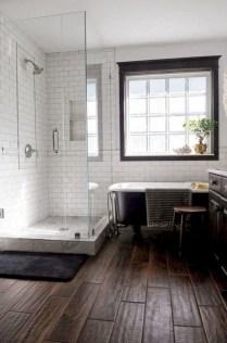 Stunning Rustic Farmhouse Bathroom Design Ideas 23