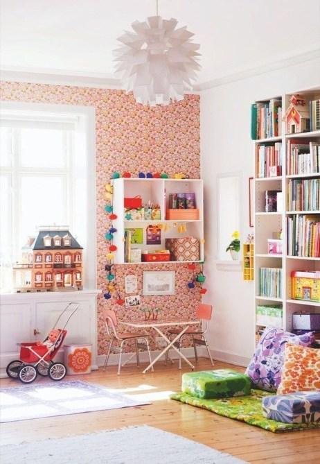 Unique Scandinavian Kids Bedroom Design To Make Your Daughter Happy 01