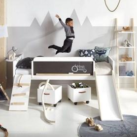 Unique Scandinavian Kids Bedroom Design To Make Your Daughter Happy 22