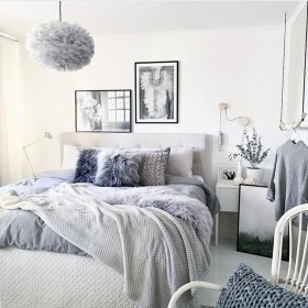 Beautiful White Bedroom Decoration That Will Inspire You 23