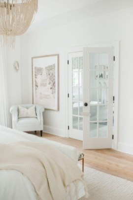 Beautiful White Bedroom Decoration That Will Inspire You 40