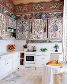 Classy Bohemian Style Kitchen Design Ideas 13