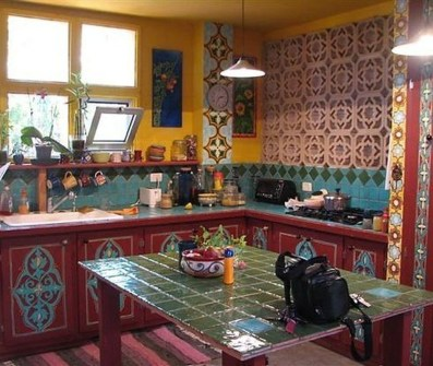 Classy Bohemian Style Kitchen Design Ideas 16