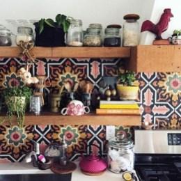 Classy Bohemian Style Kitchen Design Ideas 30