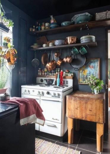 Classy Bohemian Style Kitchen Design Ideas 47