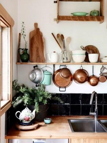 Classy Bohemian Style Kitchen Design Ideas 54