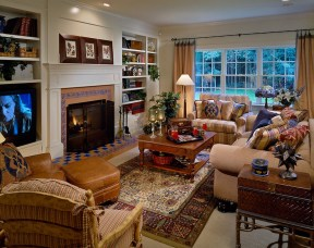 Cozy And Relaxing Living Room Design Ideas 16