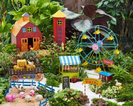 Cute Fairy Garden Design Ideas 21